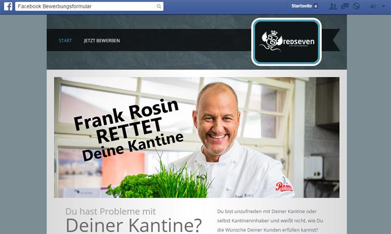Bewerbungen direkt via Facebook ins System – mit der eigenen App