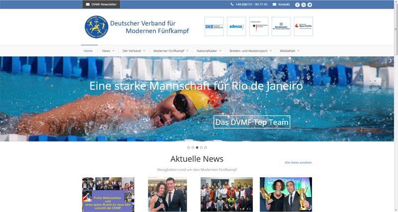 Portal – Deutscher Verband für Modernen Fünfkampf